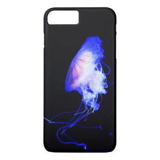 Cool Blue Jellyfish Scuba Diver Swimmer Explorer iPhone 8 Plus/7 Plus Case