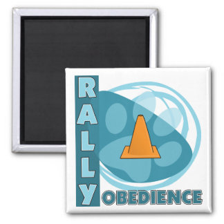 Cool Blue Rally Obedience Magnet