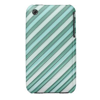 Cool Blue Stripes Case-Mate iPhone 3 Case