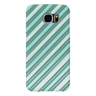 Cool Blue Stripes Samsung Galaxy S6 Cases