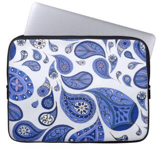 Cool Blue Teardrops Case Laptop Sleeves