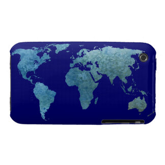 Cool Blue World Case-Mate iPhone 3 Cases