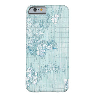 Cool Blue World - collection Barely There iPhone 6 Case