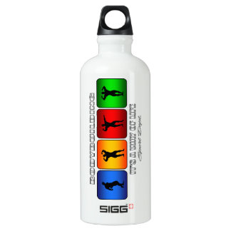 Cool Bodybuilding It Is A Way Of Life Water Bottle