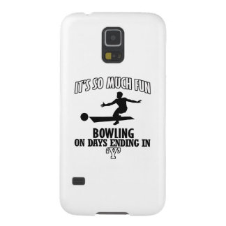 cool Bowling DESIGNS Galaxy S5 Cover