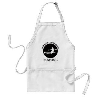 Cool bowling designs standard apron