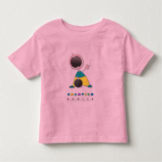 Cool Bowling Toddler T-Shirt