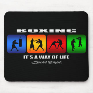Cool Boxing It Is A Way Of Life Mouse Pad