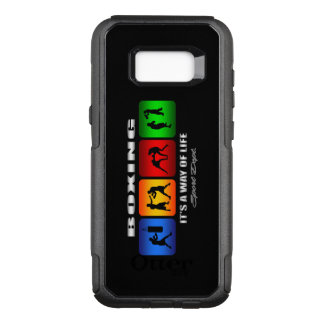 Cool Boxing It Is A Way Of Life OtterBox Commuter Samsung Galaxy S8+ Case