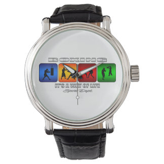 Cool Boxing It Is A Way Of Life Wrist Watch