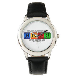 Cool Boxing It Is A Way Of Life Wristwatches