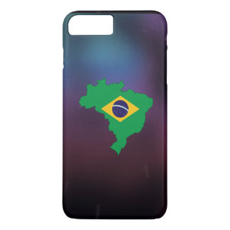 Cool brazil Flag Map iPhone 7 Plus Case