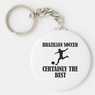 cool Brazilian soccer designs Key Chains