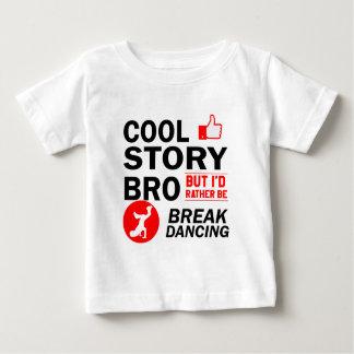 Cool break dancing designs baby T-Shirt