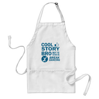 Cool break dancing designs standard apron