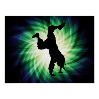 Cool Breakdancer Print