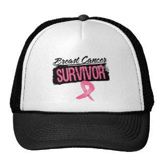 Cool Breast Cancer Survivor Mesh Hats