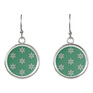 Cool breeze summer pattern earrings
