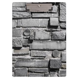 Cool Brick Wall Pattern Clipboard