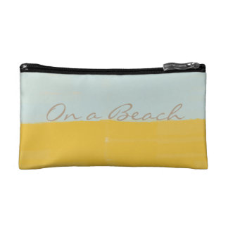 Cool Bright On a Beach Watercolor Abstract Bag