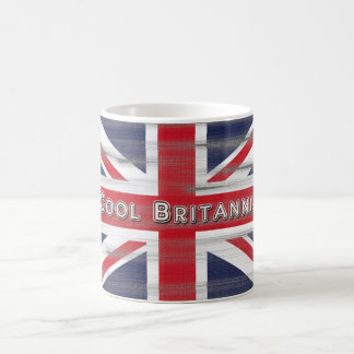 Cool Britannia British Flag Coffee Mug