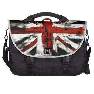 cool British flag Commuter Bags