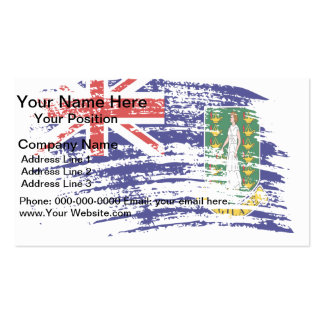 Cool Britisher flag design Business Cards