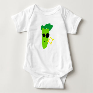 Cool Broccoli Baby Bodysuit