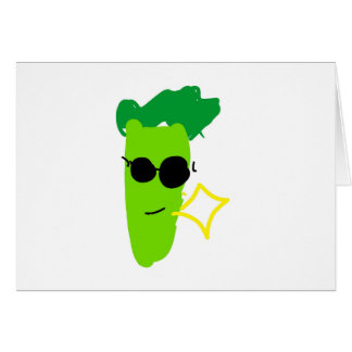 Cool Broccoli Card