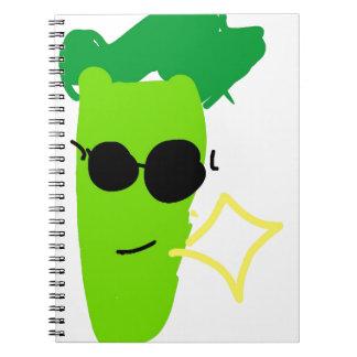 Cool Broccoli Notebook