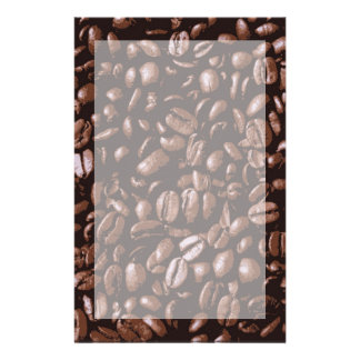 Cool Brown delicious Coffee Beans Stationery