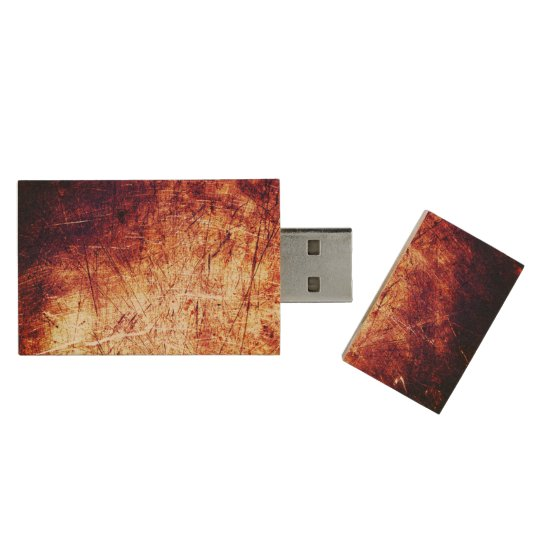 Cool Brown Rust texture background USB drive