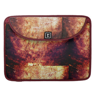 Cool brown Rust textured Mac book cover