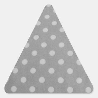 cool bubble pattern triangle sticker