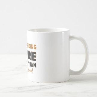 Cool Bull riding designs Basic White Mug
