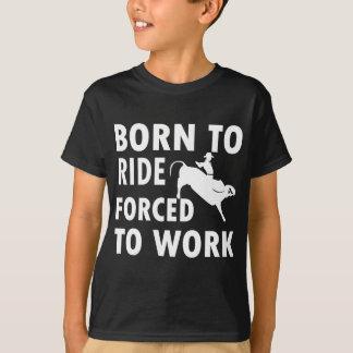 Cool Bulls Ride Designs T-Shirt