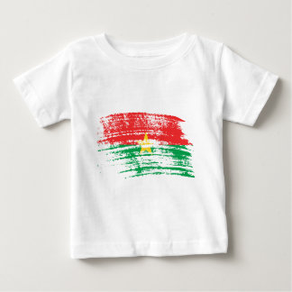 Cool Burkinabe flag design Baby T-Shirt