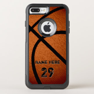 Cool Burnished Personalized Basketball Phone Cases
