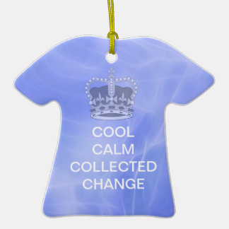 Cool Calm Collected Change Christmas Tree Ornament