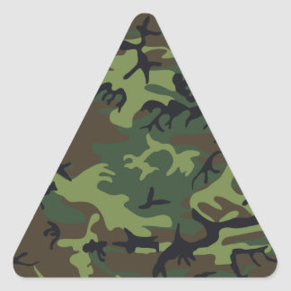 cool camouflage image effect triangle sticker