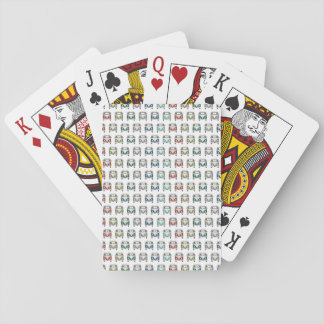 cool camper playing cards