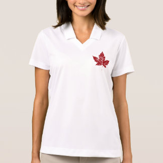 Cool Canada Polo Shirt Retro Canada Souvenir Shirt