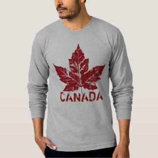 Cool Canada Shirt Retro Maple Leaf Souvenir