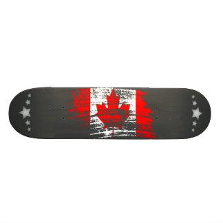 Cool Canadian flag design Skate Board Deck
