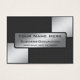 Carbon fibre office supplies stationery zazzle cool carbon fibre and brushed steel look business card reheart Choice Image