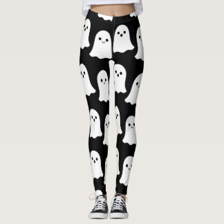 Cool Cartoon Ghosts Leggings