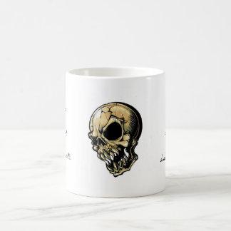 Cool cartoon tattoo symbol evil ink skull mug