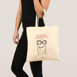 Cool  Cartoon Worm Tote Bag