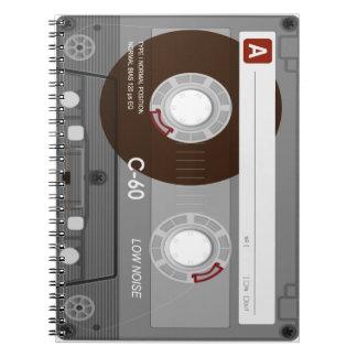 Cool CassetteTape Notebook