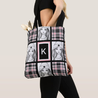 Cool Casual & Girly Tote Bag